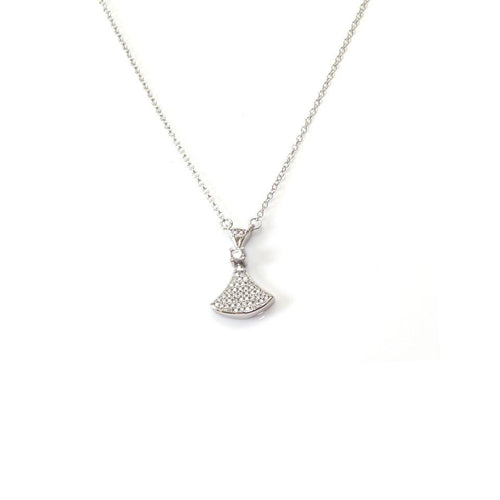 Elite Shape Silver Necklace