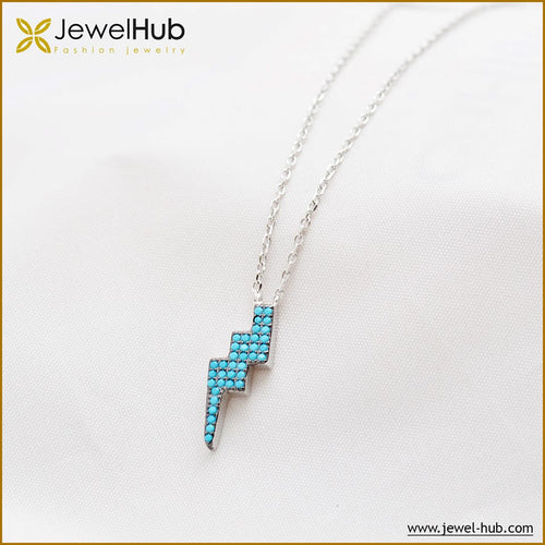Electric Nano Turquoise Necklace