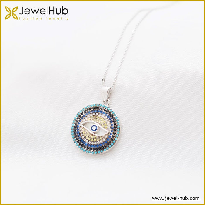 Eye Nano Turquoise Necklace