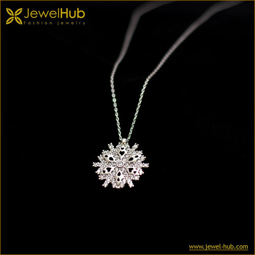 Snow Silver Necklace