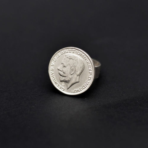 Coin Silver 925 Ring