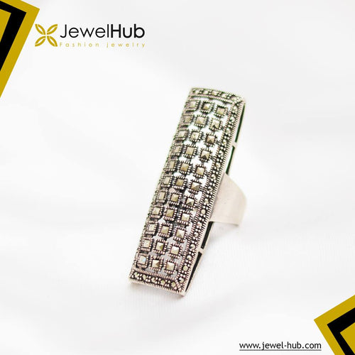 Very Classy Marcasite Silver Ring