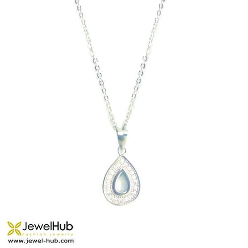 A Drop Of Water Necklace, Necklace - JewelHub jewelry