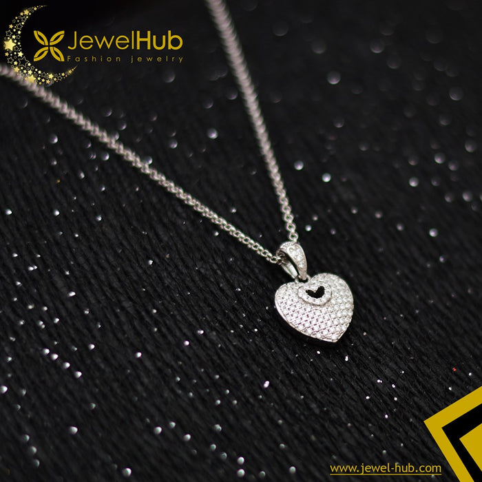 Lovely Hearts Silver Necklace