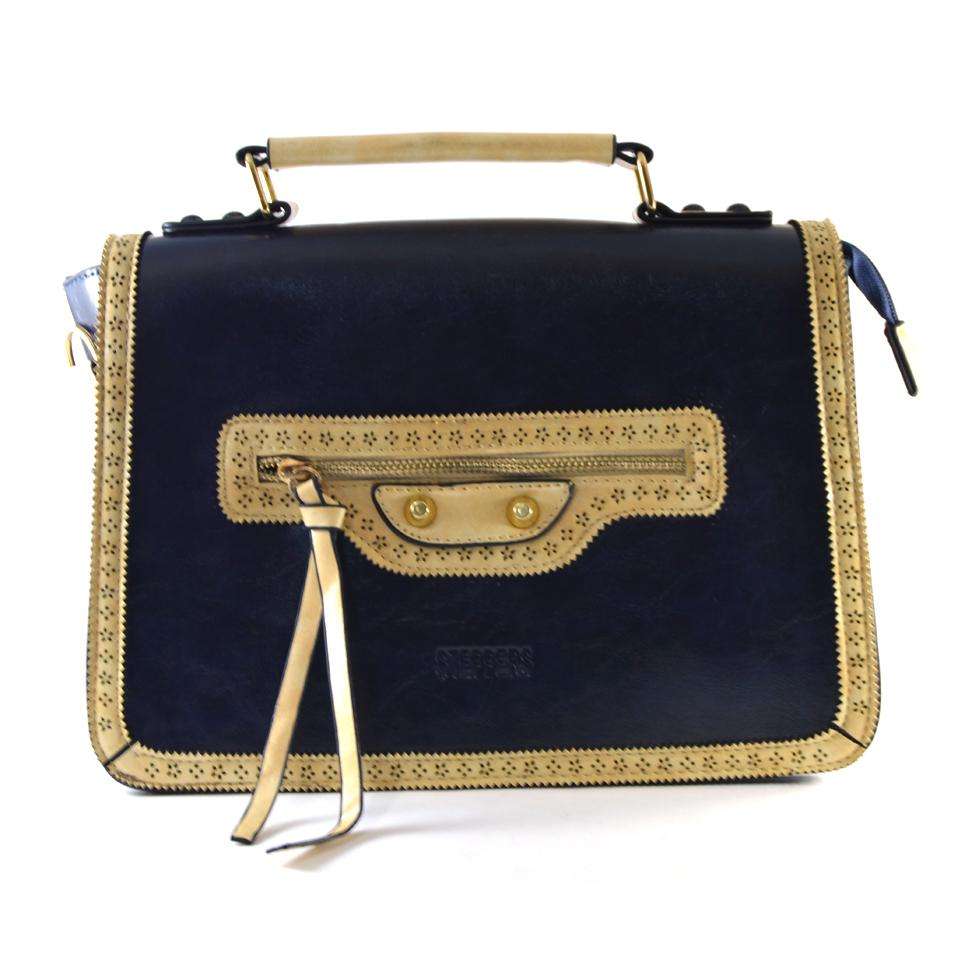 Dark Blue Handbag