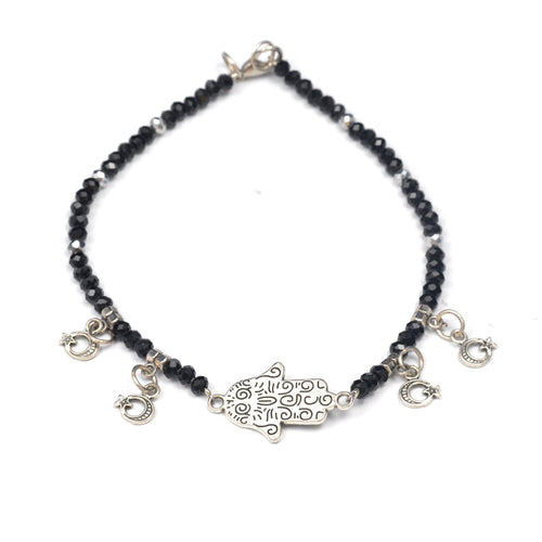 Black Palm Accessories Anklet, Anklet - JewelHub jewelry