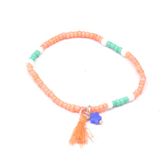 Colorful With Star Accessories Bracelet