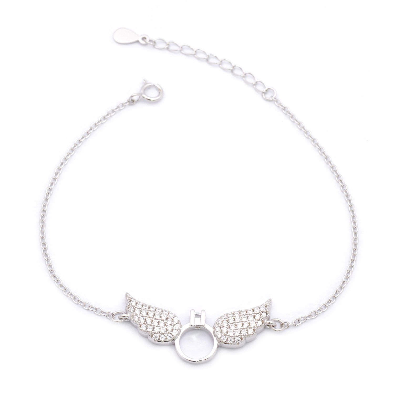 Pretty Wings Silver Bracelet