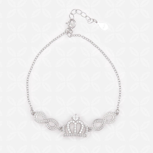 Crown With two Infinity