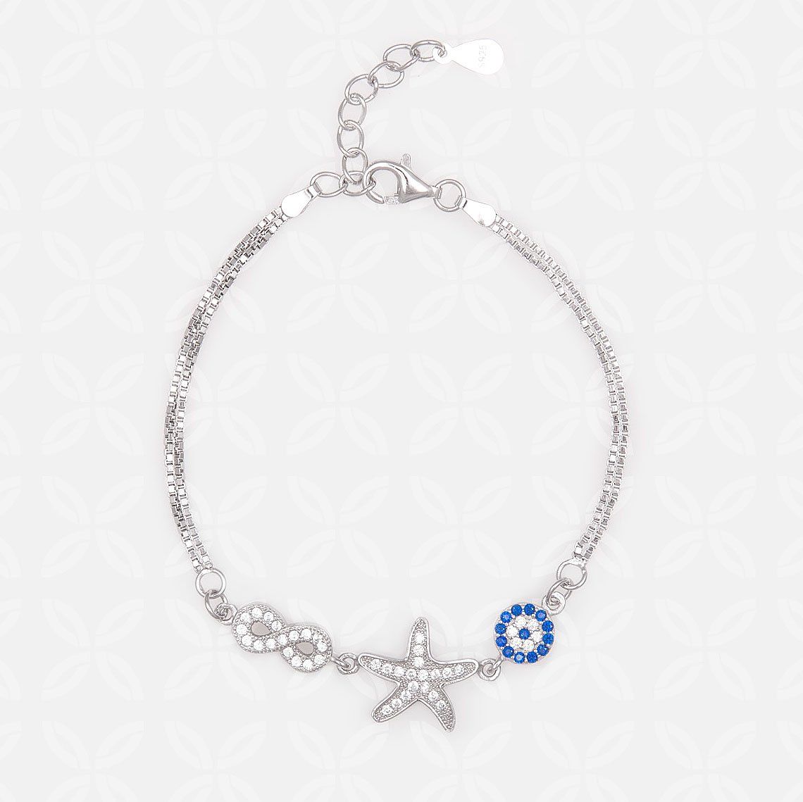 Magnificent Star Silver Bracelet