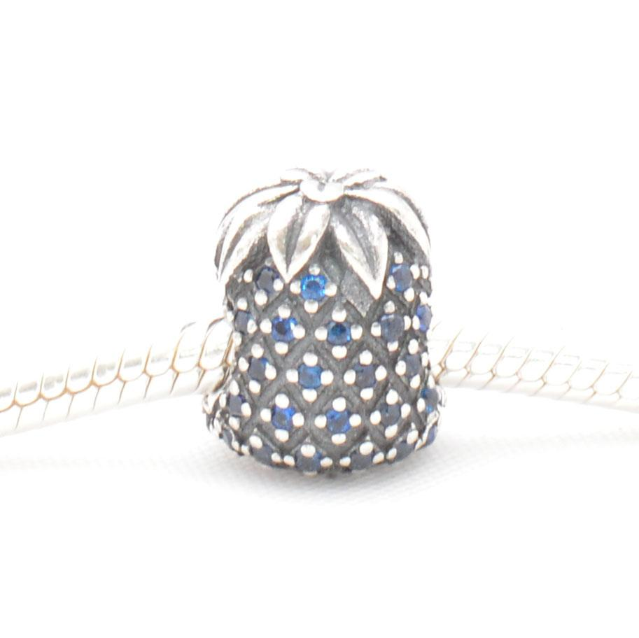 Blue Pineapple Charm