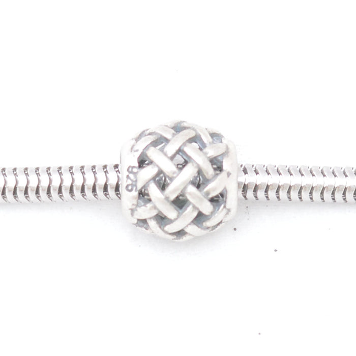 Tangle Silver Charm, Silver Charm - JewelHub jewelry