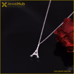 Eiffel Tower Silver Necklace