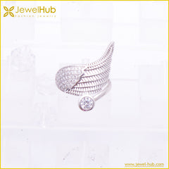 Wing Silver Ring