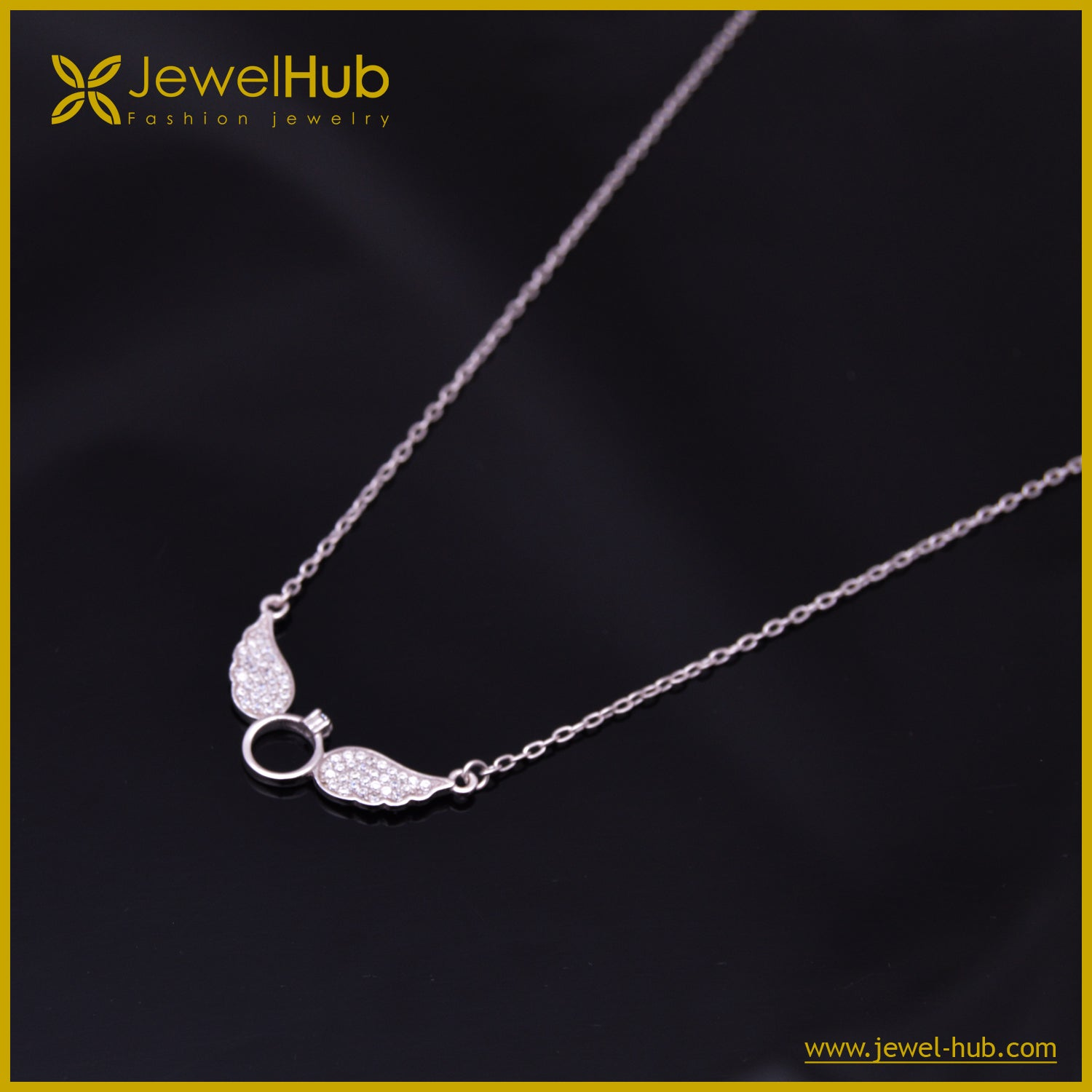 Wing Silver Necklace