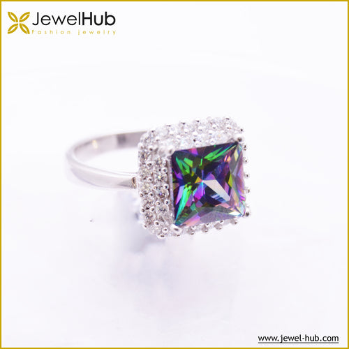 Charm Silver Ring, Ring - JewelHub jewelry