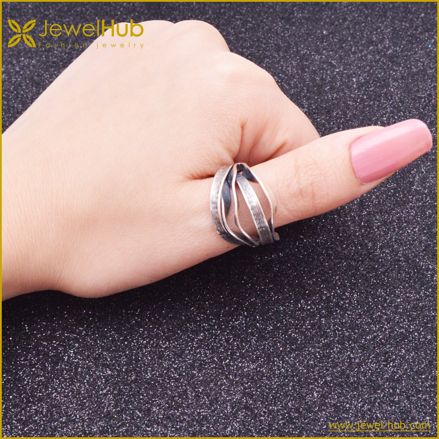 Big Style Silver Ring