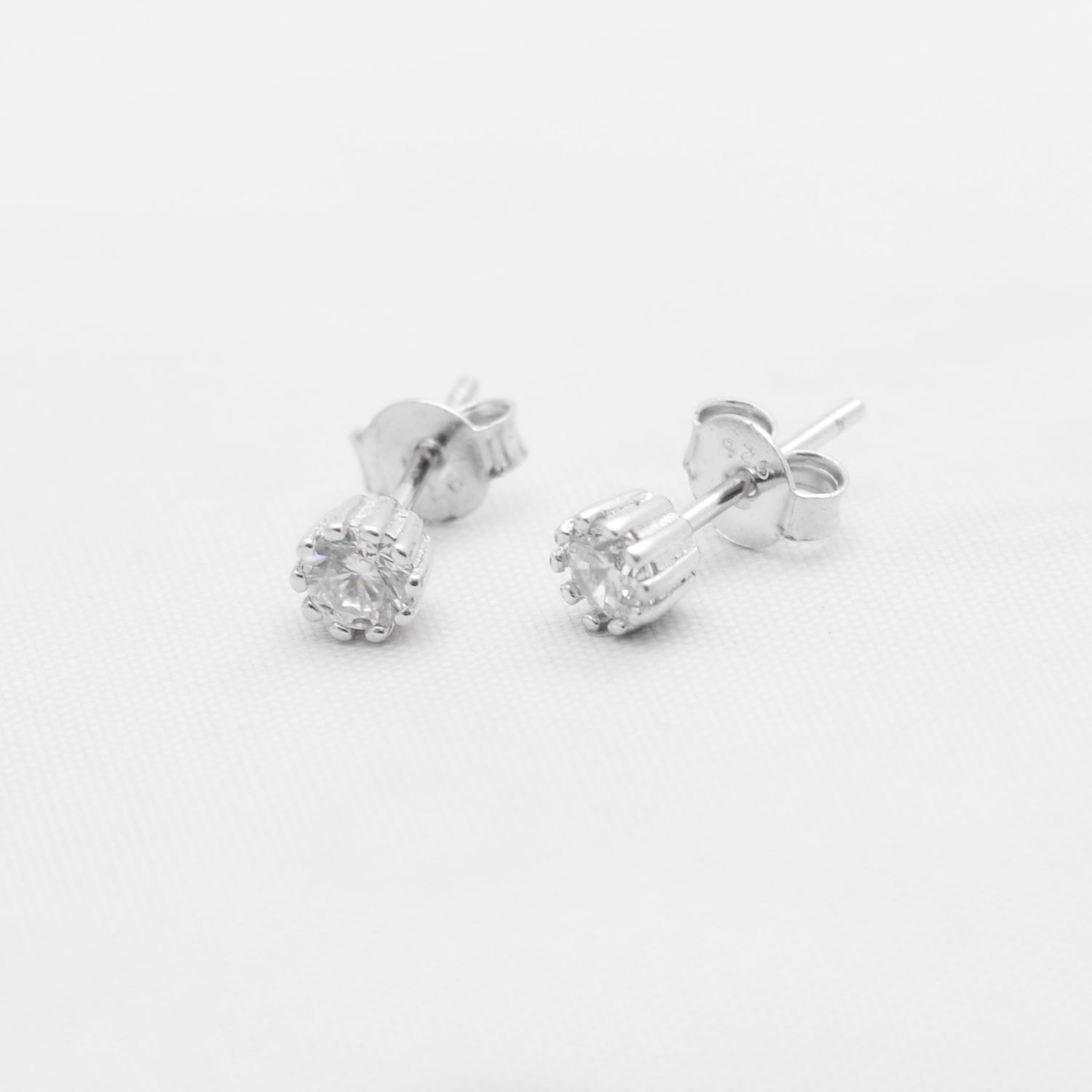 Simple Silver Earrings