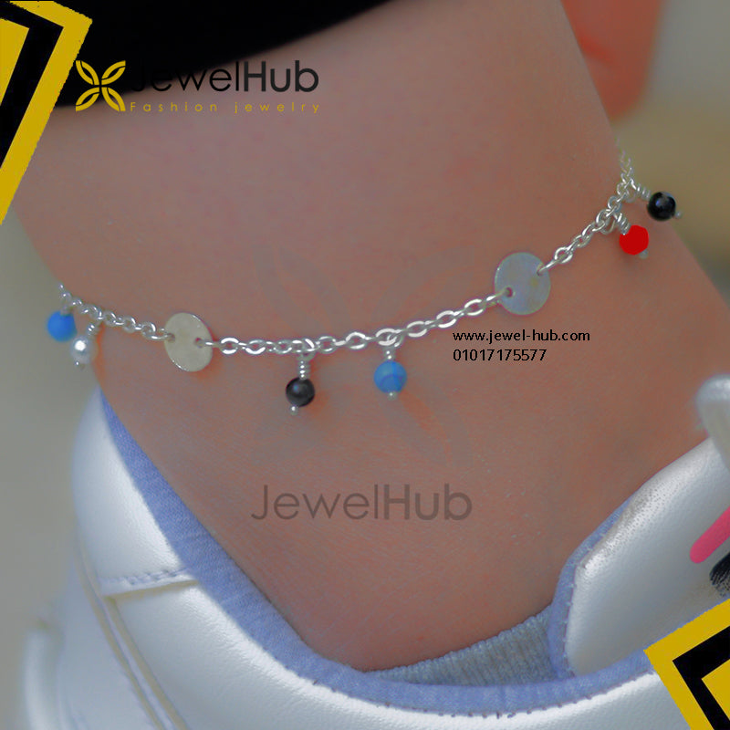 Hor disc colorful anklet