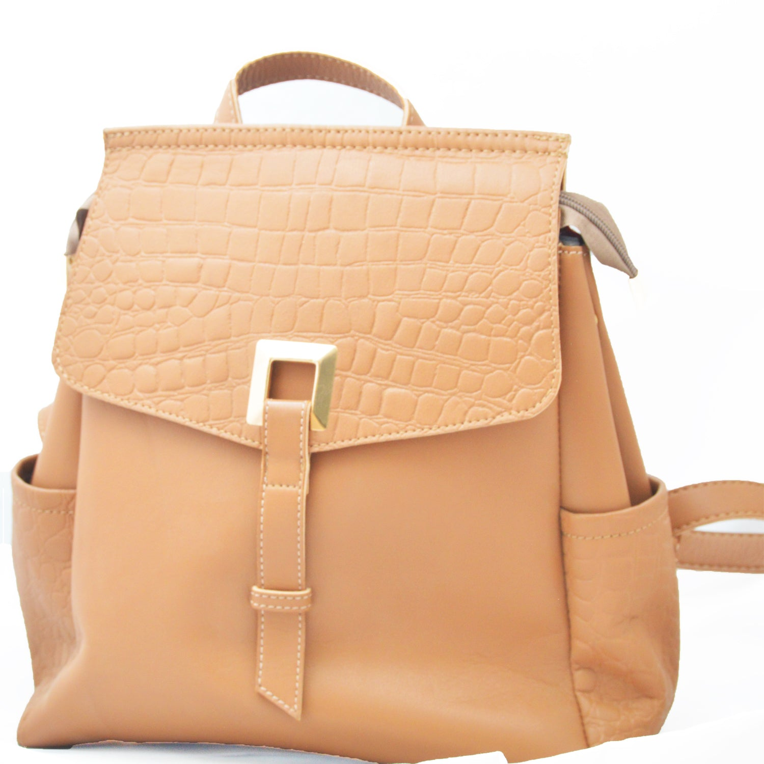 Woman's Beige Back Pack