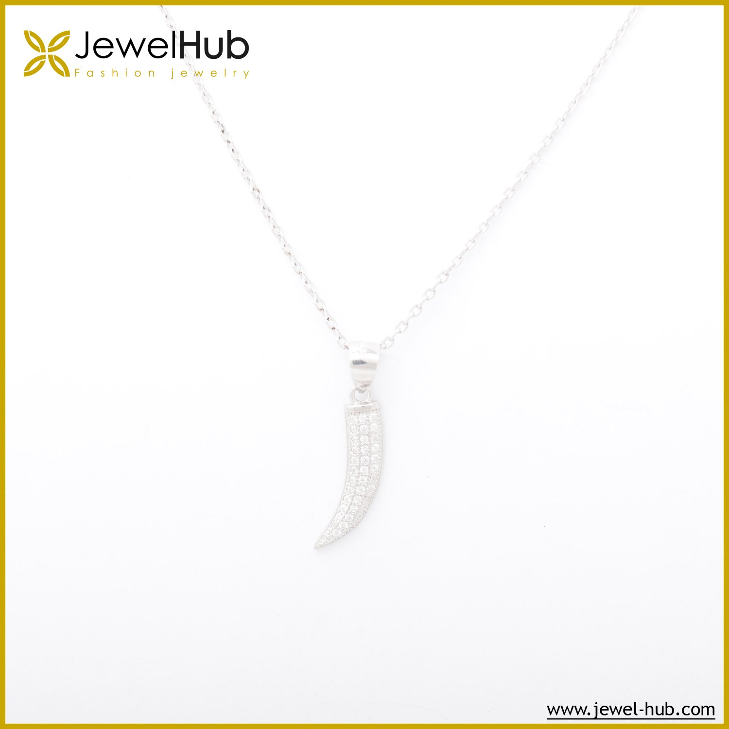Big Horn Silver Necklace