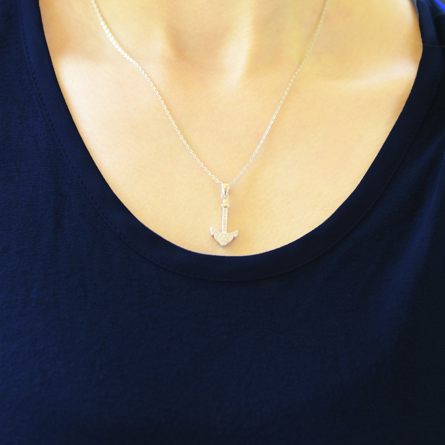 Arrow Silver Necklace