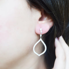 Leaf Silver Earrings