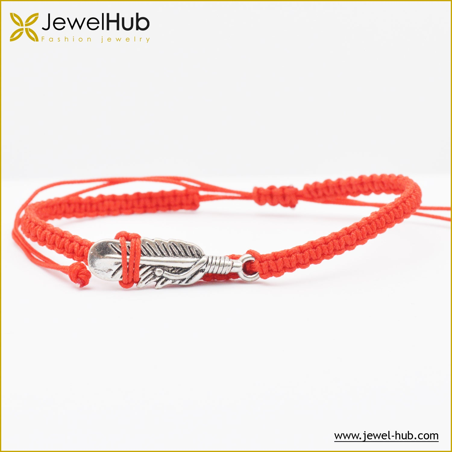 Red feather Accessories Bracelet