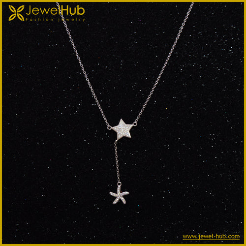 Lovely Stars Silver Necklace