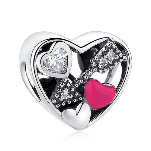 Heart Arrow Charm