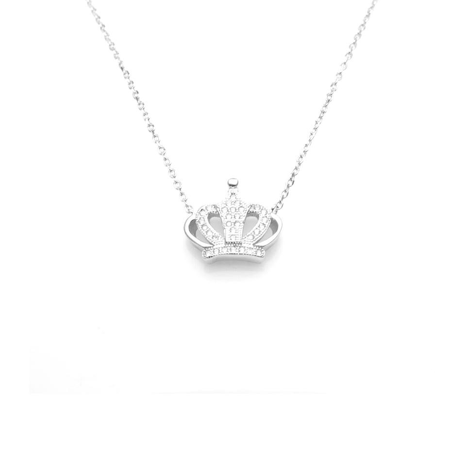 Beauty Fashionable Crown Necklace
