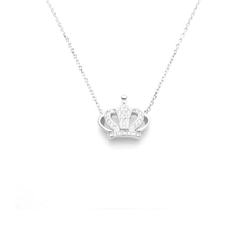 Beauty Fashionable Crown Necklace, Necklace - JewelHub jewelry