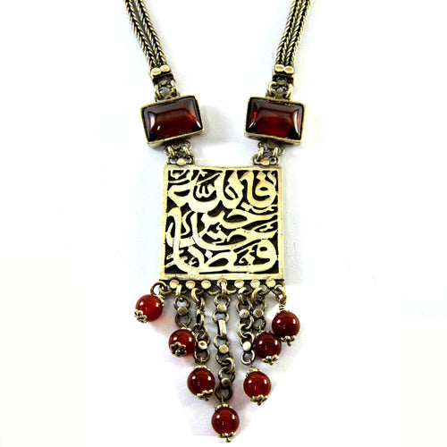 Arabian Silver Necklace