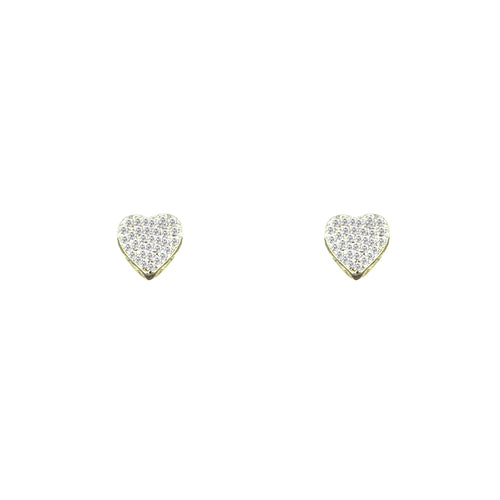Pretty Heart Earrings, Earring - JewelHub jewelry