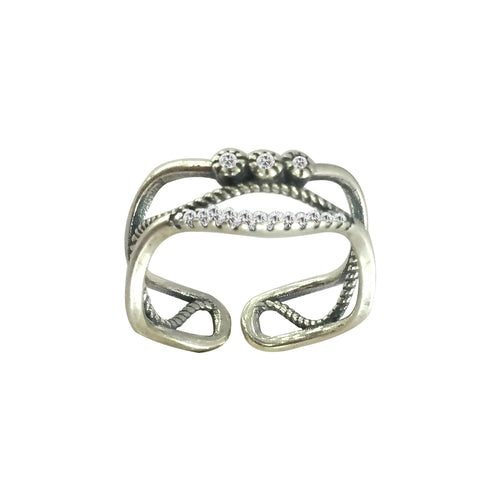 Waves Boho Ring, Ring - JewelHub jewelry