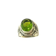 Green Jade Ring