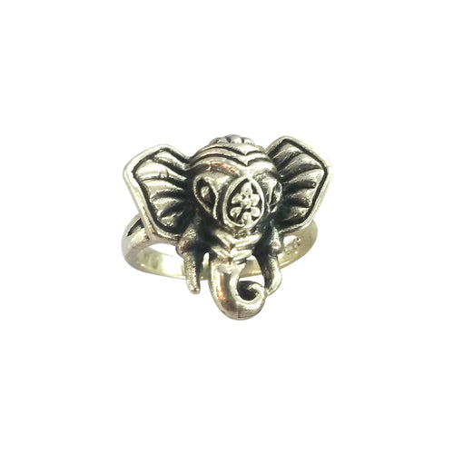 Pretty Elephant Boho Ring, Ring - JewelHub jewelry