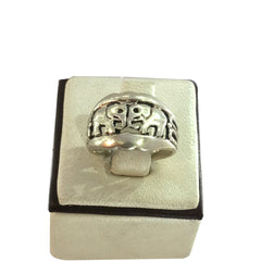 Friends Elephant Boho Ring