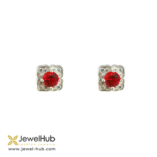 Square Cz Earring