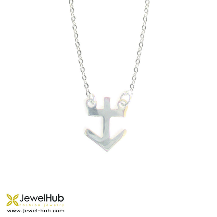 A Sagittarius necklace in sterling silver.