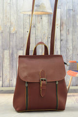 Woman's Brown Back Pack