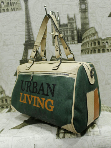 Green Urban Living Handbag