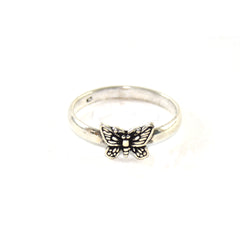 Magnificent Moth Boho ring