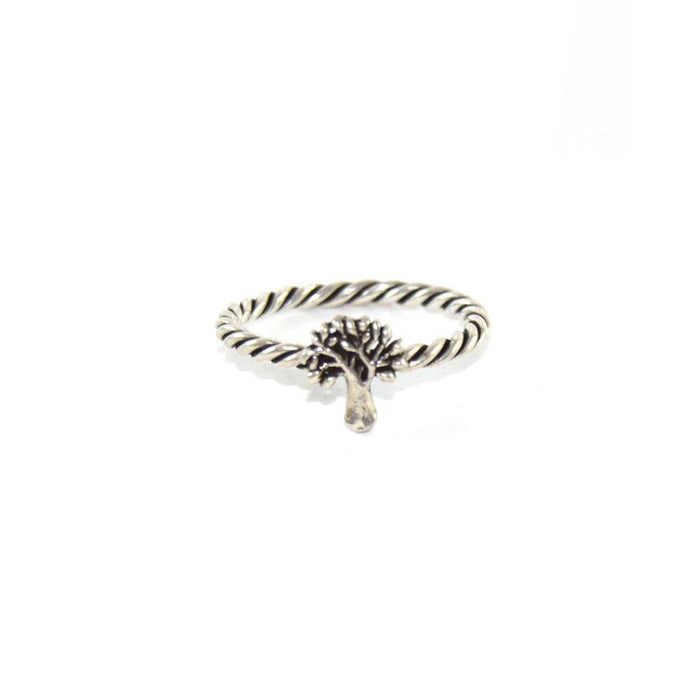 Tree Boho Ring, Ring - JewelHub jewelry