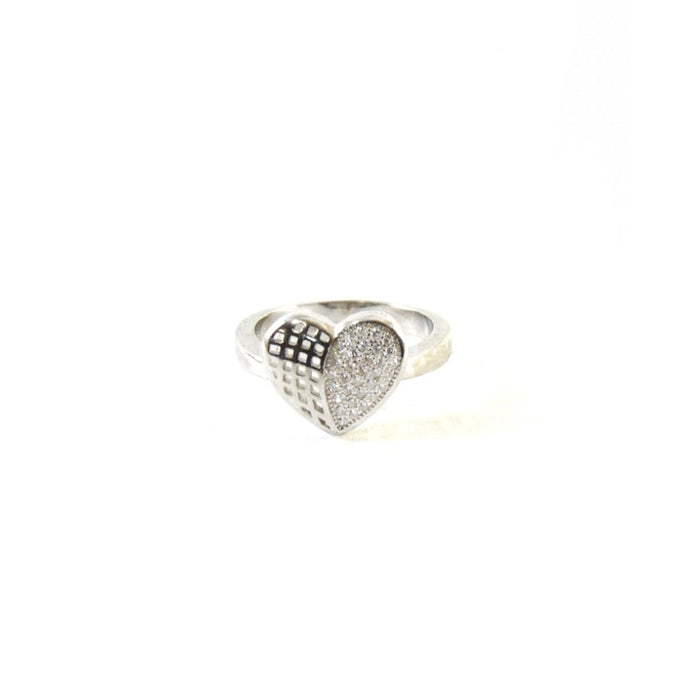 Valuable Heart CZ Ring