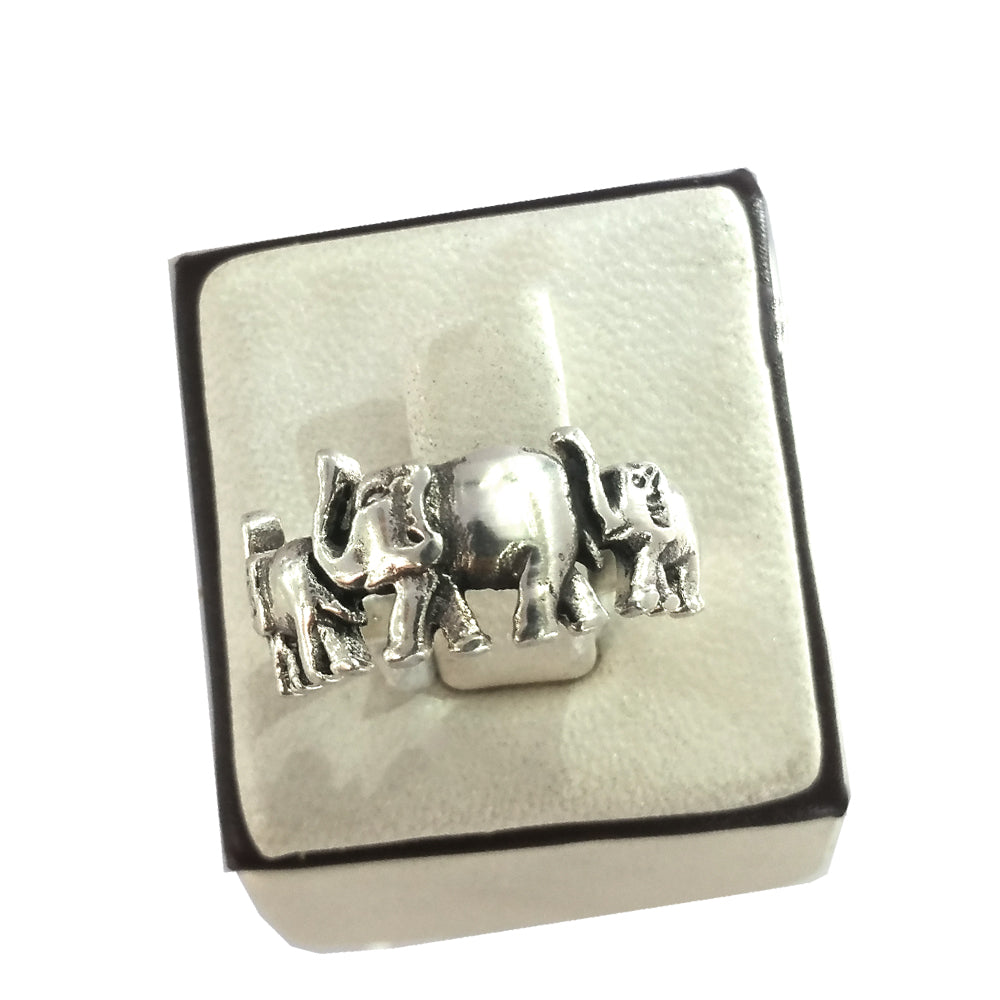 Elephants Travel Ring