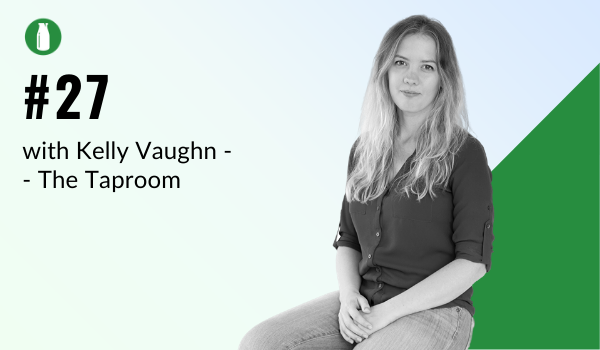 Episode 27 Milk Bottle Shopify Podcast with Kelly Vaughn from The Taproom Shopify Agency