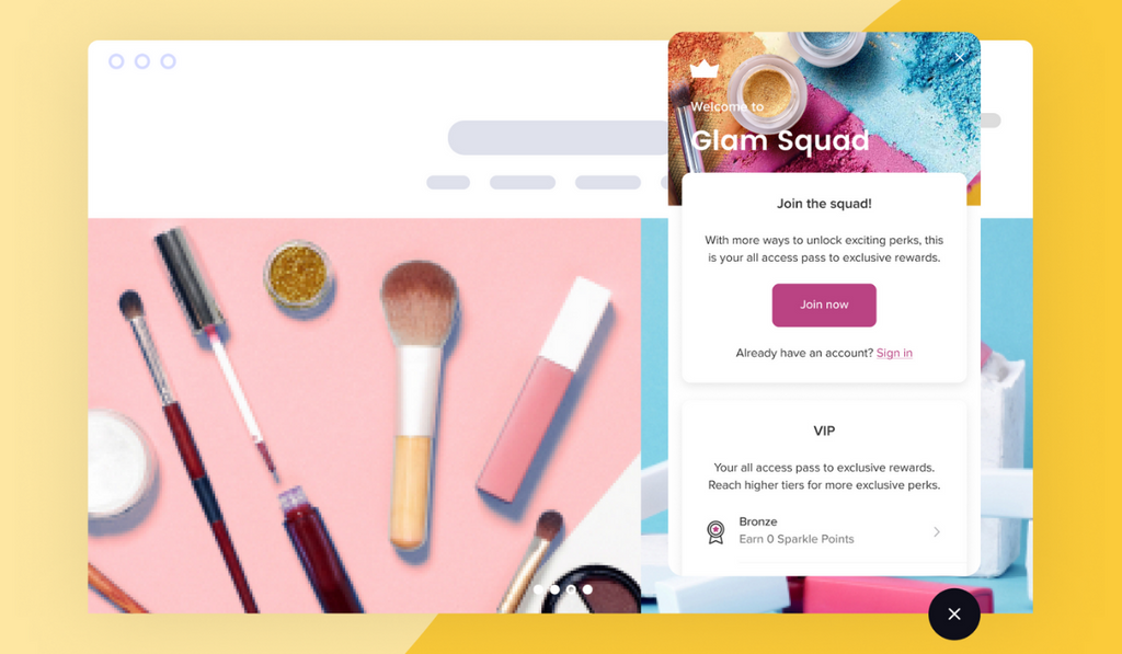 Milk Bottle Shopify App of the month - Smile: Rewards & Loyalty