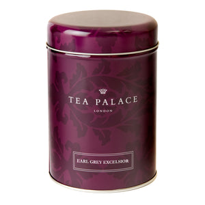 Tea Palace loose leaf Earl Grey tea caddy