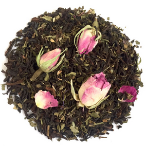 Organic Peppermint & Rose Tea